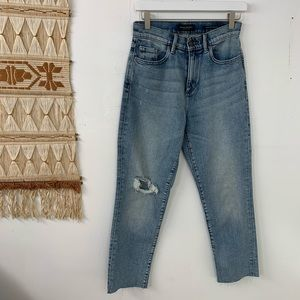 🌛Banana republic 🌛 high rise straight jeans